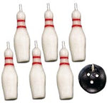 CANDLES - BOWLING BALL & PINS