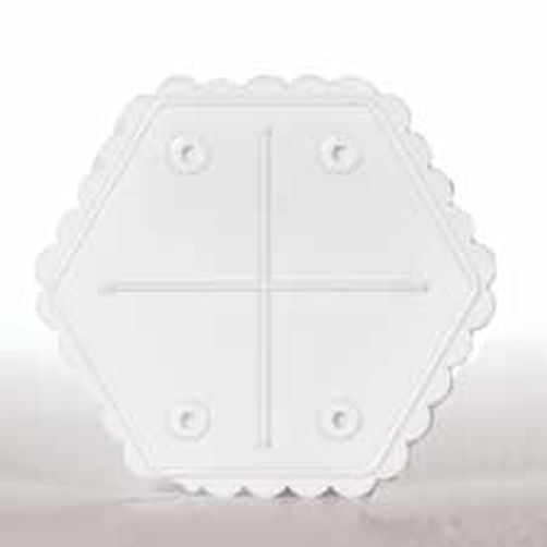 SEPARATOR PLATE - HEX - 10 INCH