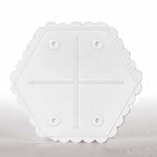 SEPARATOR PLATE - HEX - 13 INCH