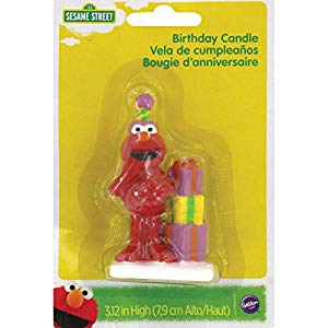 CANDLES - ELMO BIRTHDAY