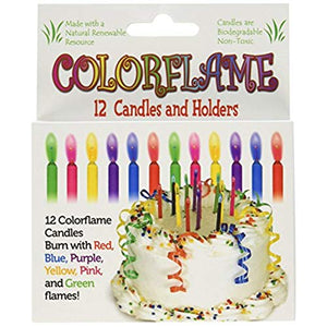 CANDLES - COLORFLAME