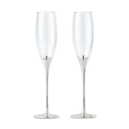 "GOBLETS - 10"" W/CLEAR GLASS"