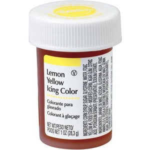 WILTON GEL ICING COLOUR - LEMON YELLOW