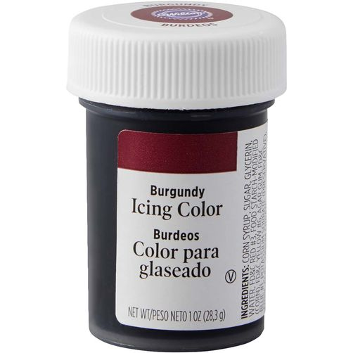 WILTON GEL ICING COLOUR - BURGUNDY