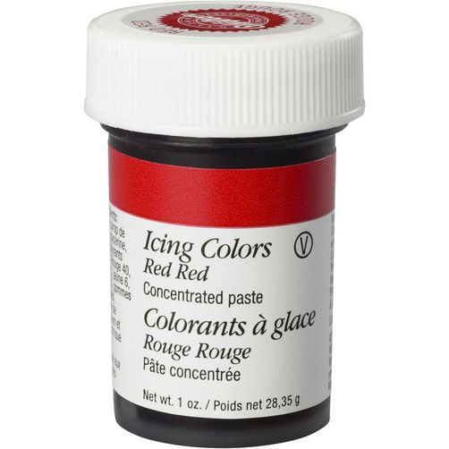 WILTON GEL ICING COLOUR - RED RED