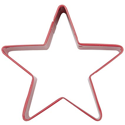 COOKIE CUTTER - CHRISTMAS - COPPER - STAR 5 1/2""