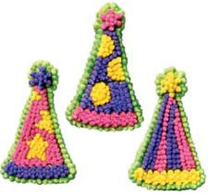 ICING DECO - PARTY HATS