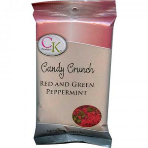CANDY - RED AND GREEN PEPPERMINT CRUNCH