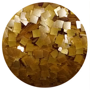 EDIBLE GLITTER - GOLD SQUARES