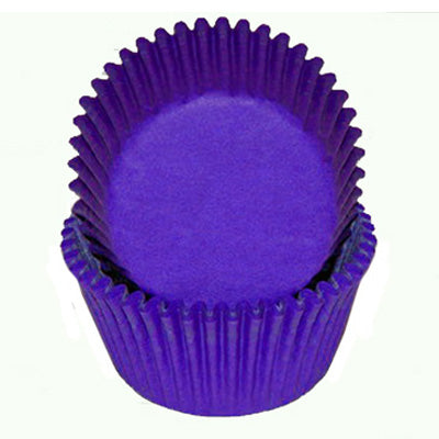 CUPCAKE PAPERS - GLASSINE - STANDARD - PURPLE
