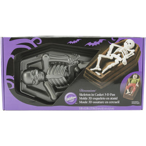 PAN - 3D - SKELETON IN CASKET - Isn't Life Sweet