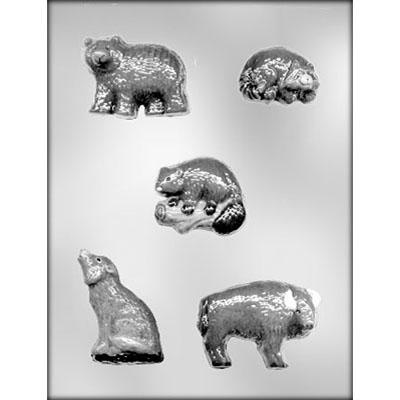 MOLDS - ANIMALS - ASSORTED WILDERNESS ANIMALS