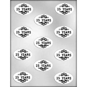 MOLDS - OVALS - 25 YEARS