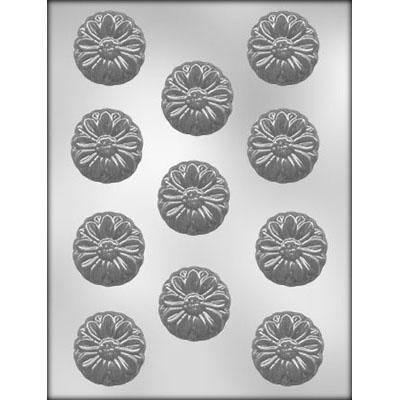 MOLDS - HARD CANDY - DAISY HEAD - 1 3/4 INCH