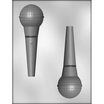 MOLDS - KIDS/INDOOR/BIRTHDAY - MICROPHONE - 3D - 5 3/3 INCH
