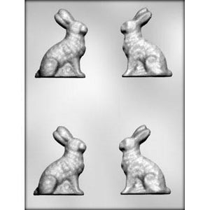 MOLDS - EASTER - BUNNY - 3D - SMALL