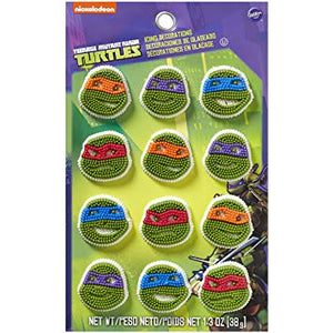 ICING DECO - TEENAGE MUTANT NINJA TURTLES