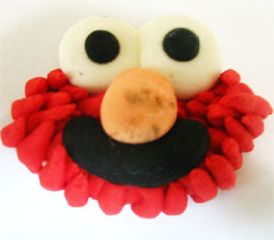 ROYAL ICING - ELMO FACE