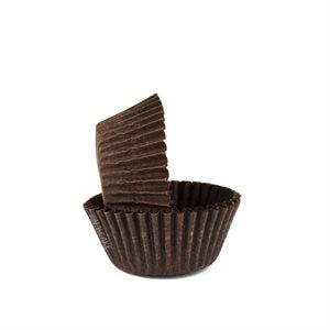 CUPCAKE PAPERS - MINI- BROWN