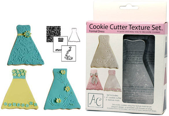COOKIE CUTTER - WEDDING - TEXTURE SET - FORMAL DRESS