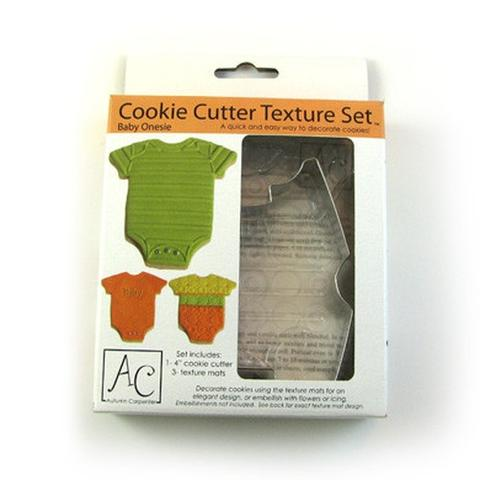 COOKIE CUTTER - BABY -TEXTURE SET - ONSIE