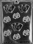 MOLDS - GAMBLING - CARDS, DICE