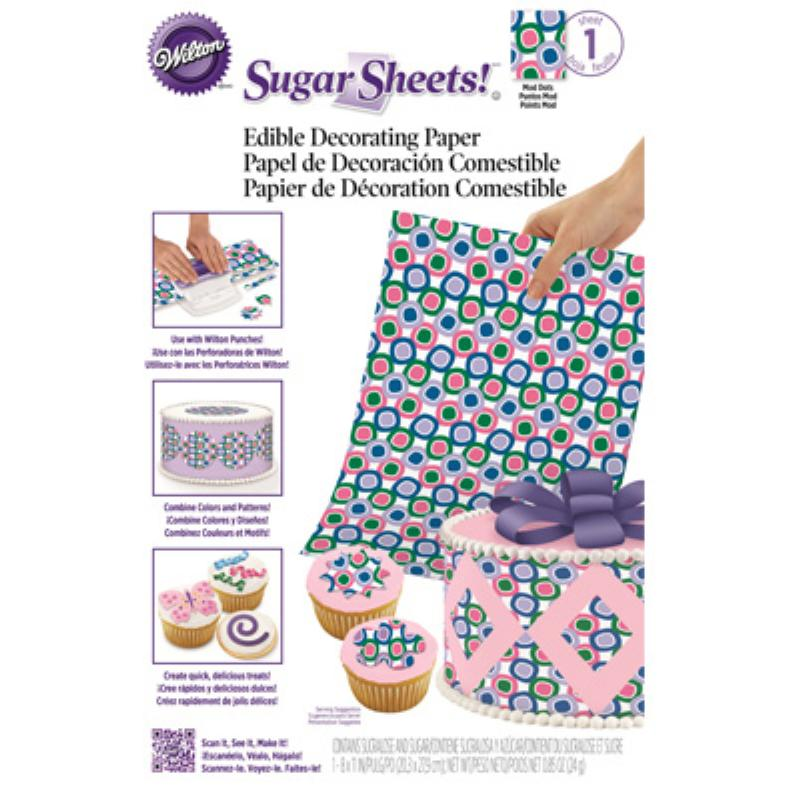 SUGAR SHEETS - MOD DOTS