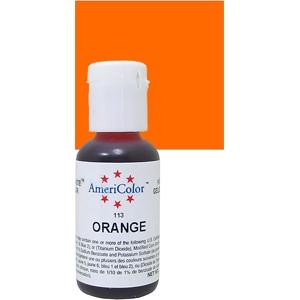 AMERICOLOR OR CHEFMASTER - 3/4 OZ - ORANGE