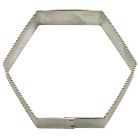 COOKIE CUTTER - MISC - HEXAGON - 3""