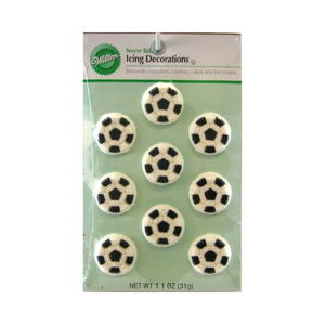 ICING DECO - SOCCER BALL
