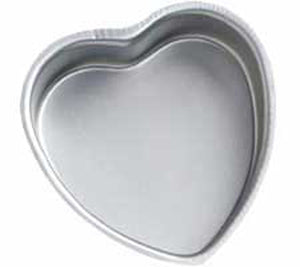 PAN - SHAPED - DECORATOR PREFERRED - HEART - 8 X 2