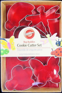 COOKIE CUTTER - ANIMAL - BUG BUDDIES - 6 PIECE SET
