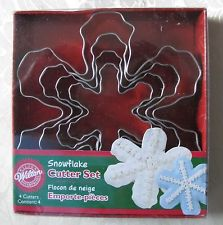 COOKIE CUTTER - CHRISTMAS - NESTING - SNOWFLAKE