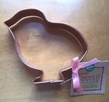 COOKIE CUTTER - EASTER - COPPER - CHICK 5 1/2""