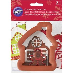 COOKIE CUTTER - CHRISTMAS - COMFORT GRIP - GINGERBREAD HOUSE