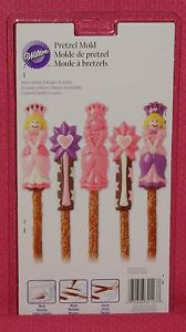 MOLDS - GIRL/WOMEN POWER - PRINCESS PRETZEL