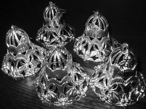 FILIGREE BELLS - SILVER