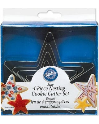 COOKIE CUTTER - CHRISTMAS - NESTING - STAR