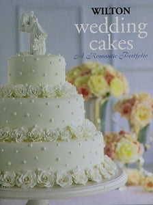 BOOKS - WILTON WEDDING CAKES - ROMANTIC PORTFOLIO