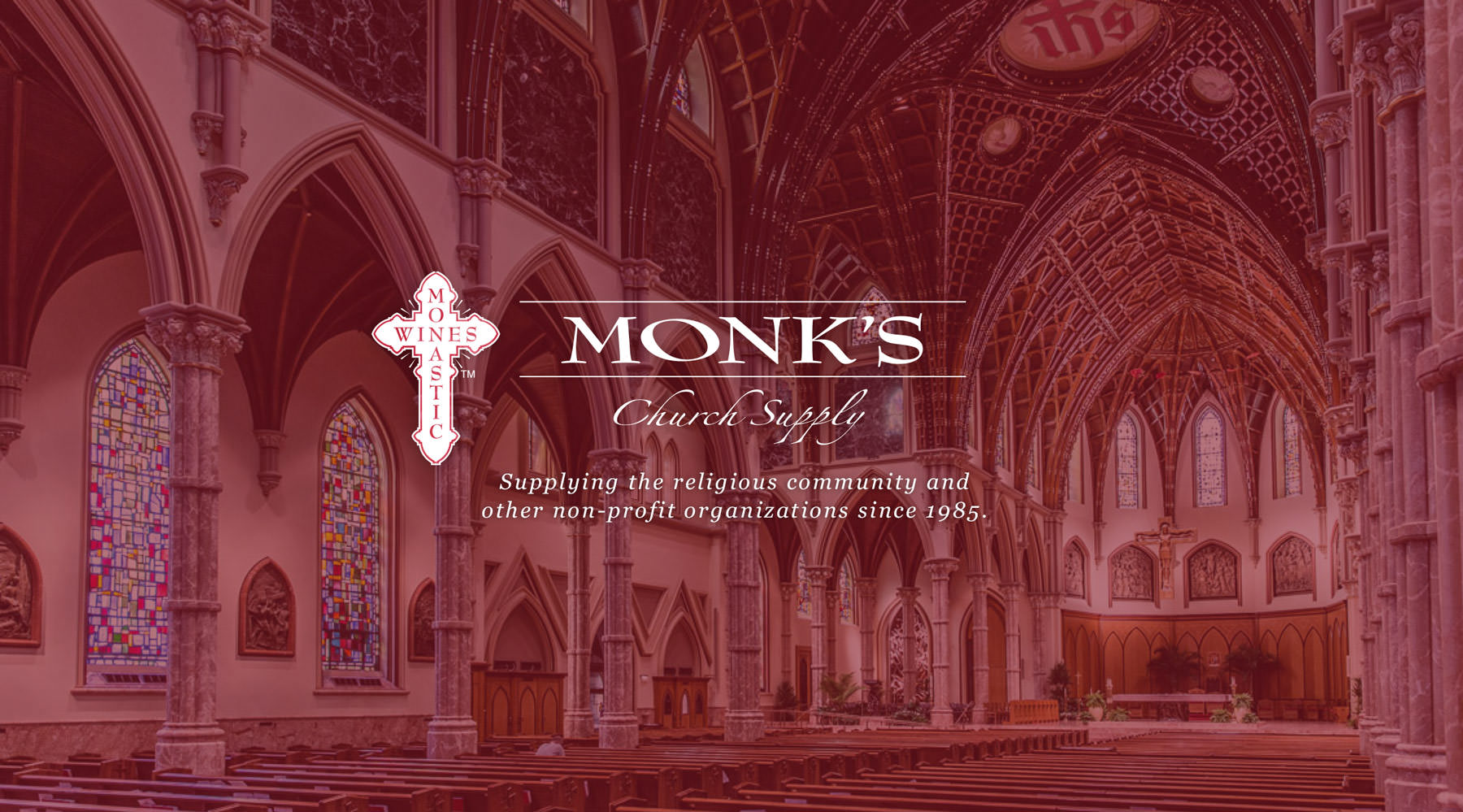 Monk's Church Supply - Supplying the religious community and other non-profit organizations since 1985.