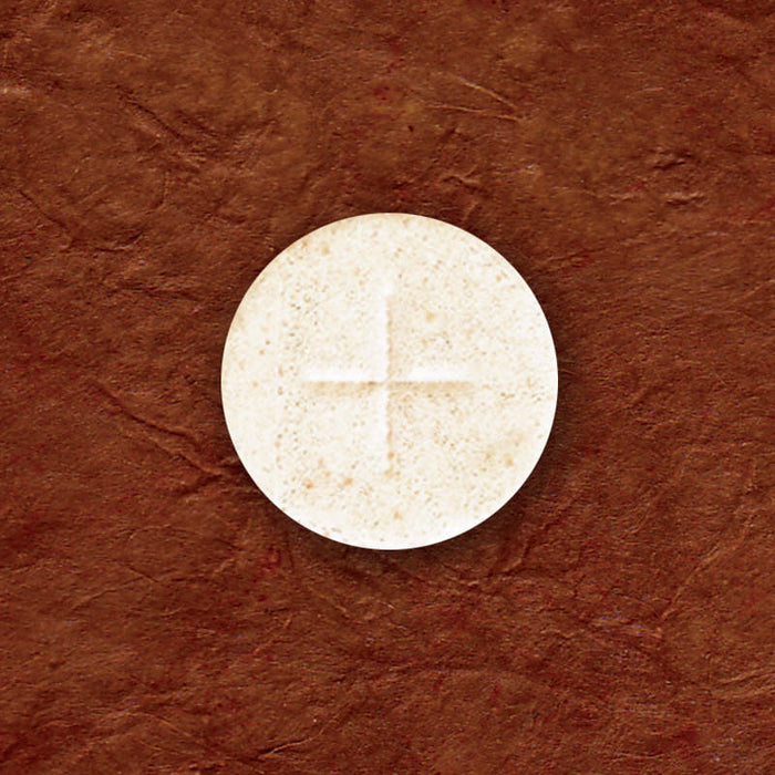 "ALTAR BREAD - COMMUNION HOST - 1-1/8 ""  WHITE"