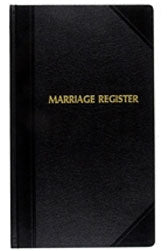 MARRIAGE RECORD BOOK / REGISTER # 21