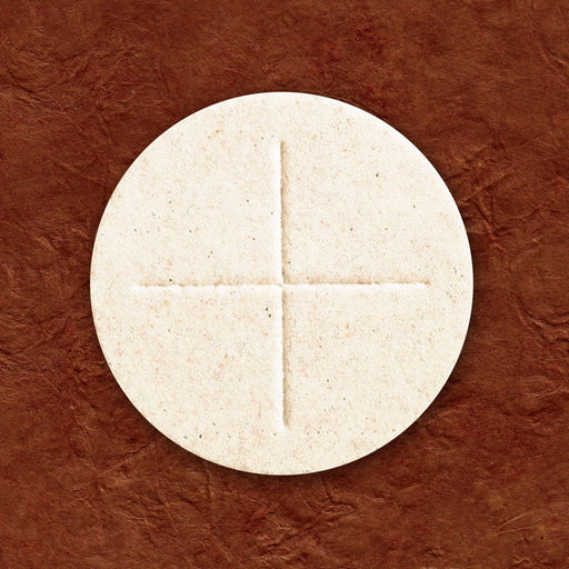 "ALTAR BREAD - COMMUNION HOST - 2-3/4 ""  CELEBRANT WHITE - BOX OF 50"