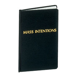 MASS INTENTIONS RECORD BOOK # 253