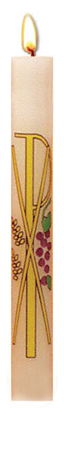COMMUNION CANDLE - 7/8 INCH  X 8 1/2 INCH