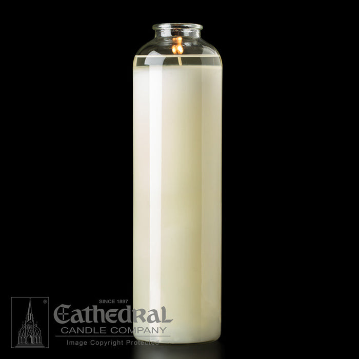 14 DAY BOTTLE STYLE SANCTUARY CANDLE  - DOMUS CHRISTI - 51% BEESWAX