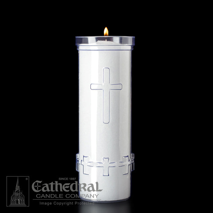 DIVINE PRESENCE - 7 DAY PLASTIC SANCTUARY LIGHT