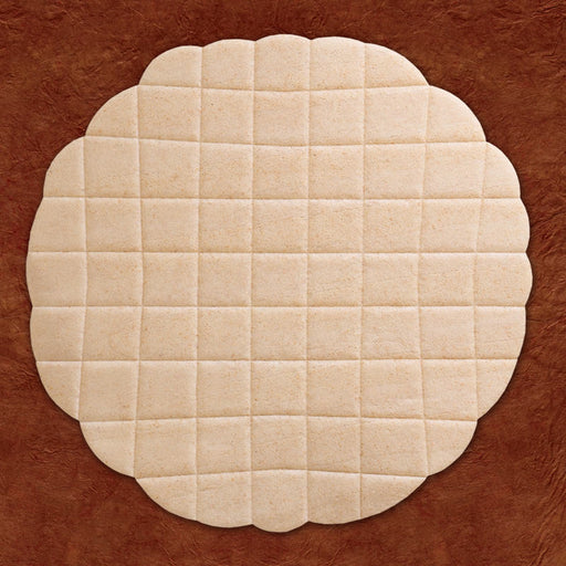 "ALTAR BREAD - COMMUNION HOST - 9""  DOUBLE THICK WHOLE WHEAT - BOX OF 25"