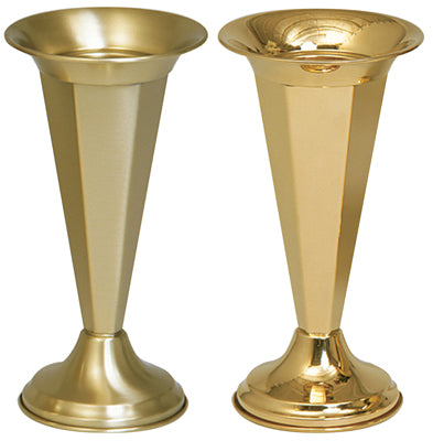 Vase - Polished Brass