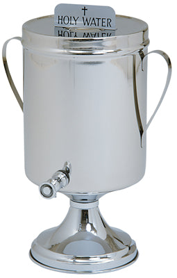 Holy or Baptismal Water Urn with Handles